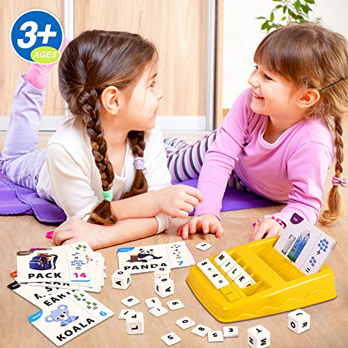 Educational Matching Letter Game, Sight Word Games, Interactive Game Toys. for Kids Toys Educational Toys for Boys Girls Birthday Party Gifts for 3 4 5 6 Year Olds
