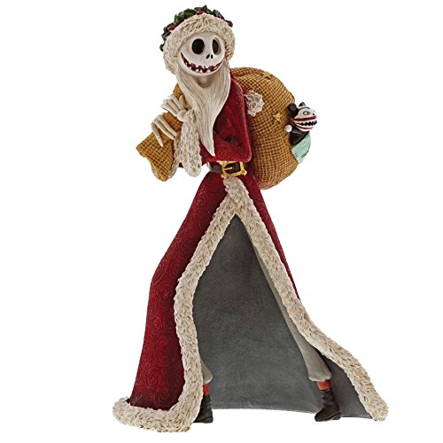 Enesco The The Nightmare Before Christmas Santa Jack Stone Resin Figurine
