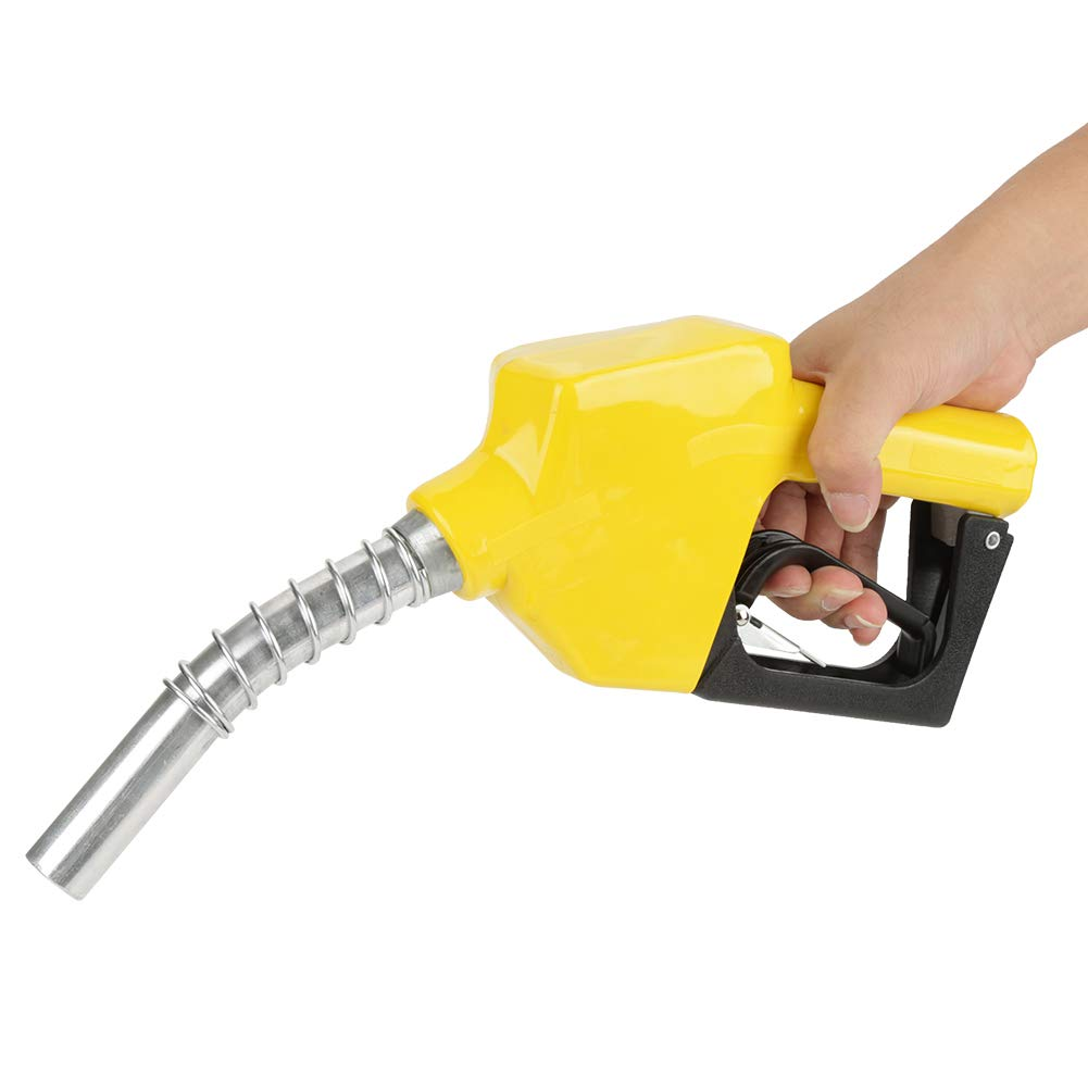 Aluminum Automatic Fuel Nozzle Auto Shut Off Fuelling Nozzle Fuel Diesel Kerosene Biodiesel Fuel Refilling Wal front