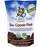 Raw Organic Cacao Paste, 16oz, The Raw Food World