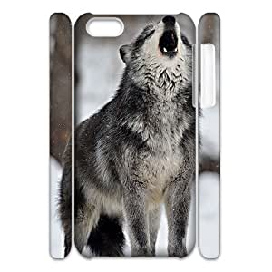 Wolves DIY 3D Case for Iphone 5C, 3D Custom Wolves Case