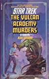 img - for The Vulcan Academy Murders (Star Trek, No 20) book / textbook / text book