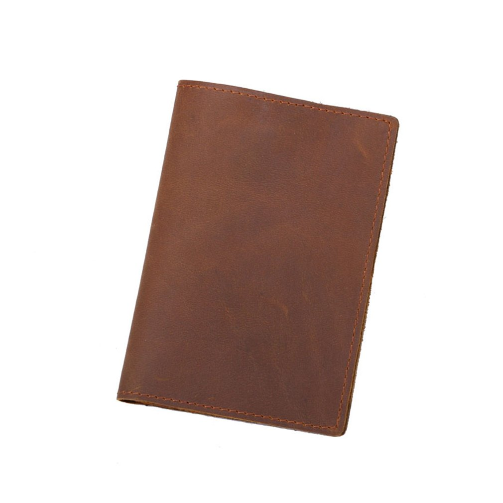 Minimalist Leather Passport Holder Wallets Money Clips Card