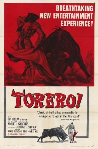 Torero! Poster Movie Luis Procuna Manolete Dolores Del Rio Carlos Arruza