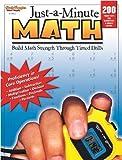 Just-a-Minute Math, Steck-Vaughn Staff, 0739879405