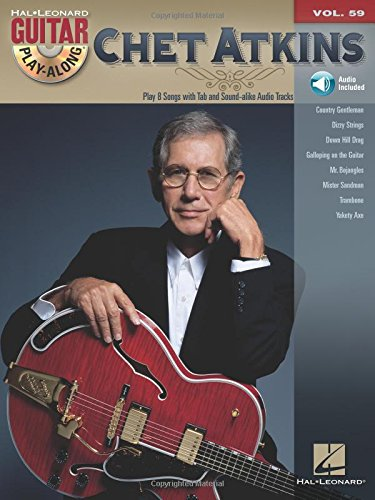 Chet Atkins: Guitar Play-Along Volume 59 (Hal Leonard Guitar Play-along)