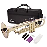 Windsor MI-1001 Student Bb Trumpet Outfit Including Case