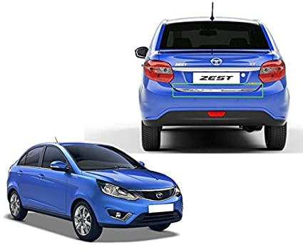 Auto Pearl Rear Trunk Dicky Trim For Tata Zest Amazon In Car