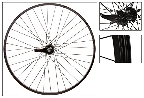 WheelMaster Rear 26 x 1.75/2.125, WEI-AS7X, Black, 36H, 14g Blk Spokes ()