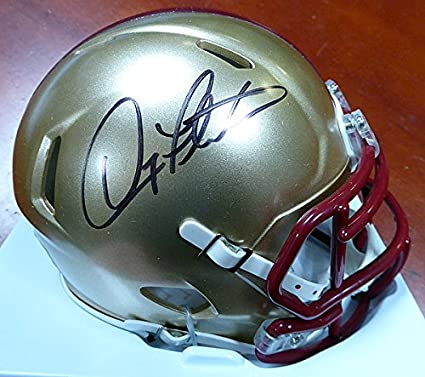 1984 Doug Flutie Boston College Eagles Heisman Custom Riddell Mini Helmet