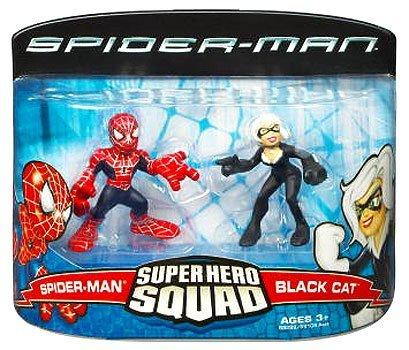 Spider Man Superhero Squad - Spider-Man Super Hero Squad Spider-Man vs. Black Cat