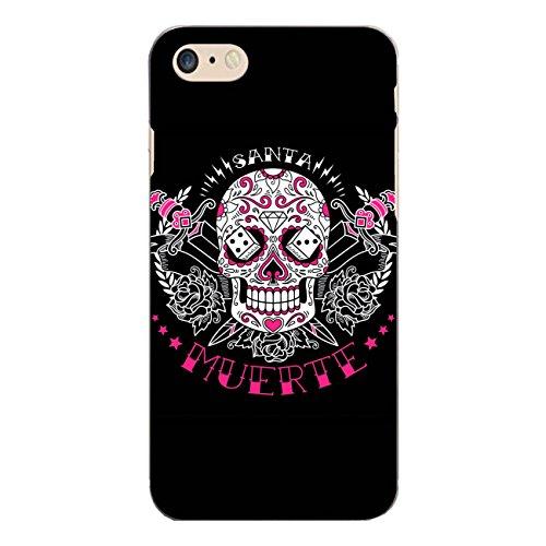 """Disagu Design Case Schutzhülle für Apple iPhone 7 Hülle Cover - Motiv """"Tag des toten Zuckerschädels schwarz"""""""