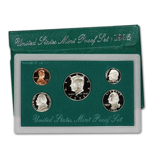1995 S US Mint Proof Set OGP