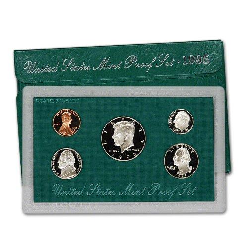 1995 S US Mint Proof Set Original Government Packaging 1995 Mint Set