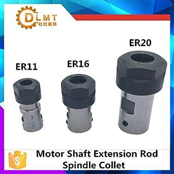 Motor Shaft Collet Chuck ER20A 14mm Extension Rod Holder Tool Holder CNC Milling