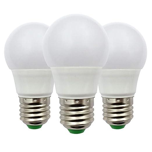 Bombilla LED E27 Edison, 3W (30W), Bombilla de Globo A50 GLS, 12V ...