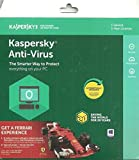 Kaspersky Antivirus 2018 1Pc 1Year New Slim Pack New Slim Pack Upgradable Edition (1cd,365 Days Valid Serial Key) Trail Download Link (https://www.kaspersky.co.in/downloads/thank-you/antivirus-free-trial) first Try then Check System Compatibility Before Buy