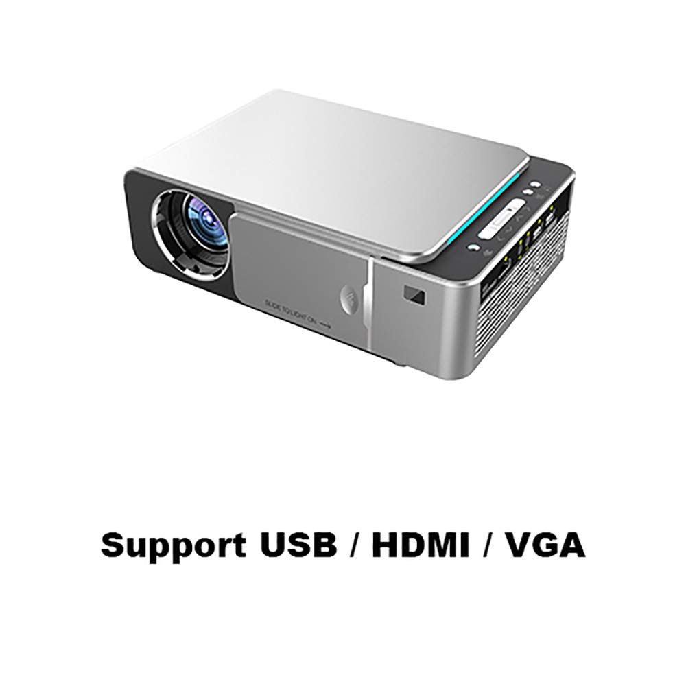 Amazon.com: Wo Fei 1280X720p HD 4K LED Projector Option ...