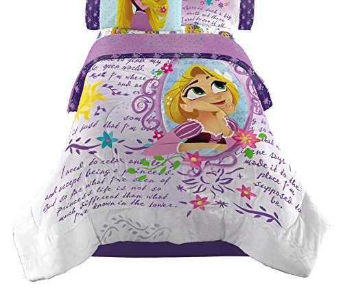 Disney Tangled Dreams and Adventure Twin Comforter