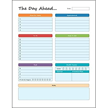 AmazonCom  Bloom Daily Planners Planning System Tear Off To Do