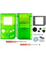 OSTENT Full Housing Shell Case Cover Replacement for Nintendo GB Game Boy Console Color Green