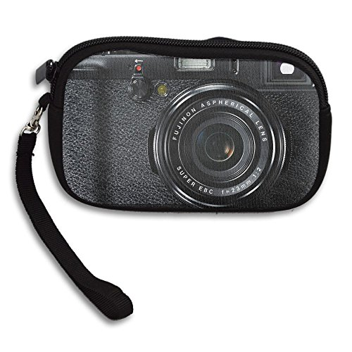 Bag Purse Camera Printing Deluxe Styke Portable Receiving Black Retro Small xqRwgvnH