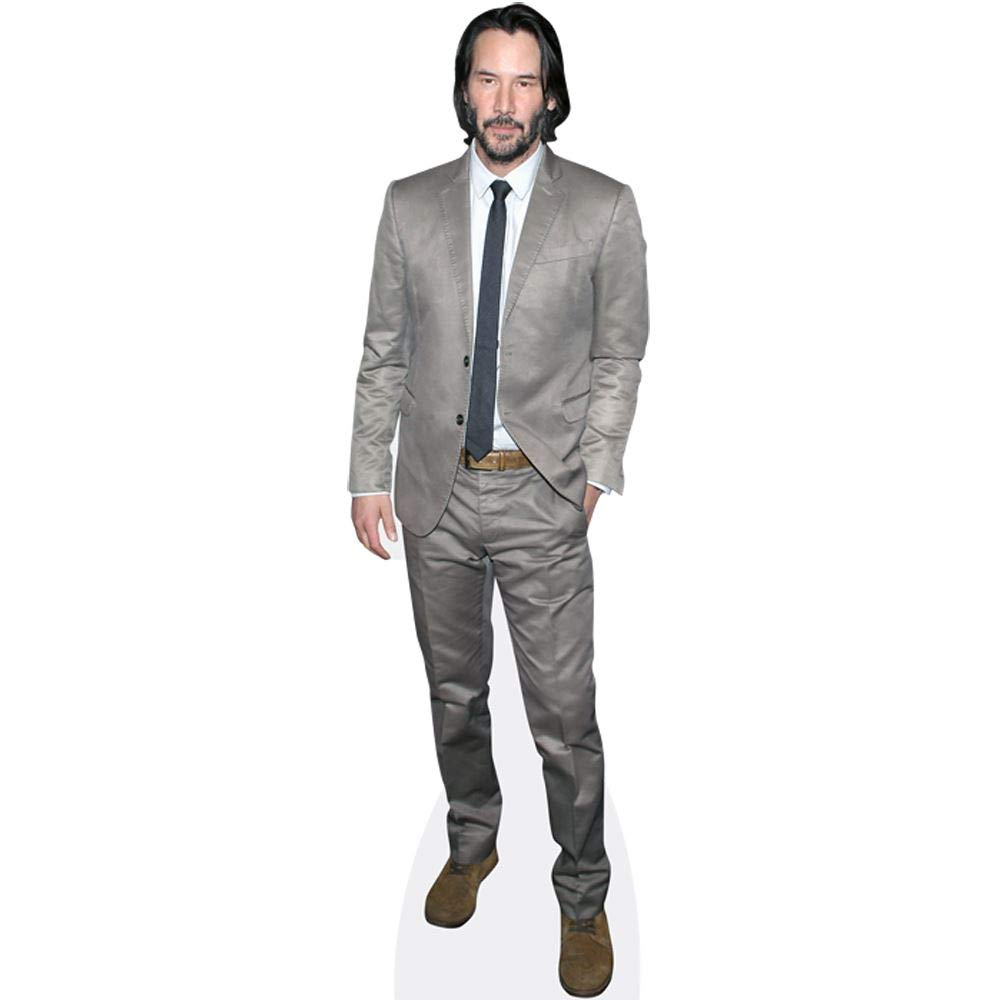 Keanu Reeves (Grey Suit) Mini Cutout