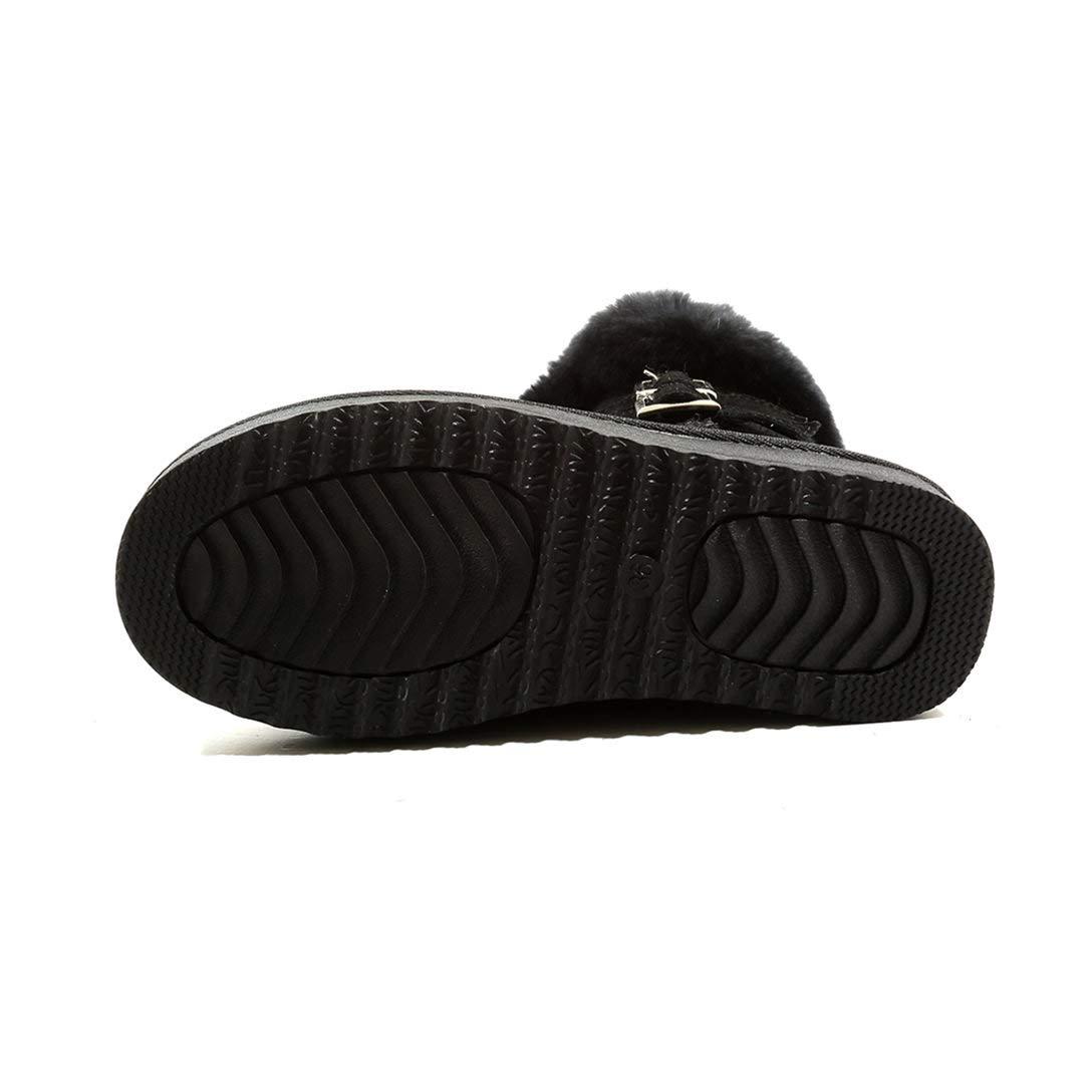 MAYPIE Donna Toalcoh Leather Scivolare su Senza Tacco Tacco Tacco Stivali 56dfdc