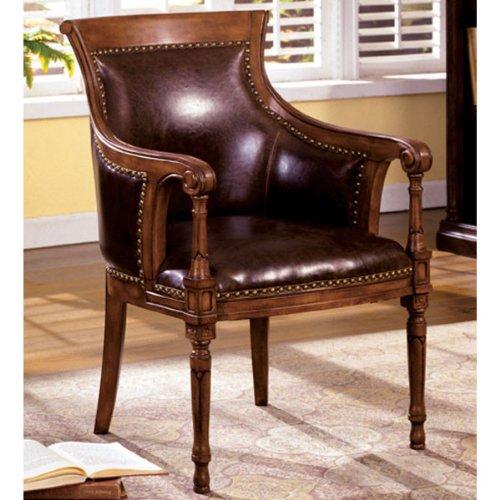 247SHOPATHOME IDF-AC6407 armchairs, Espresso