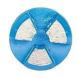 Scanmaskin Round Rap Metal Bond Diamond Tooling, 30 Grit, Blue