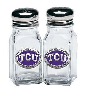 TCU Horned Frogs Salt and Pepper Shaker Set