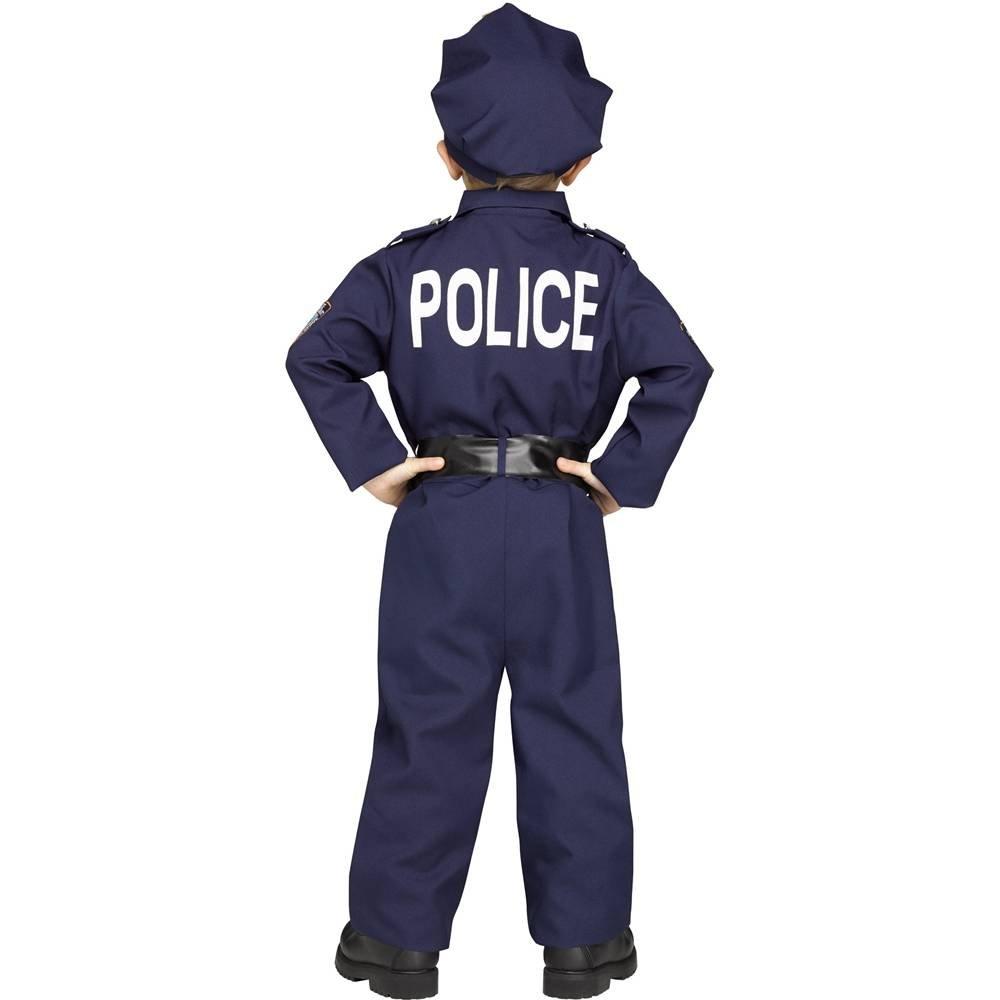 Amazon.com: On Patrol agente de policía niños unisex disfraz ...