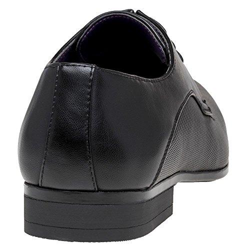 Flack Schwarz Schuhe SOLETRADER Flack Herren Schuhe SOLETRADER Herren Schwarz E7waSq