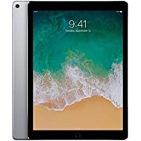 Apple iPad Pro 12.9-Inch 256GB Factory Unlocked (2nd Generation, Wi-Fi + Cellular 4G LTE, Apple SIM Card) Space Gray - Mid 2017