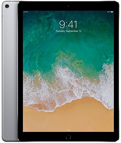 Price comparison product image Apple iPad Pro 12.9-Inch 512GB Cellular Unlocked (2nd Generation, Wi-Fi + Cellular 4G LTE, SIM Card) Space Gray - Mid 2017
