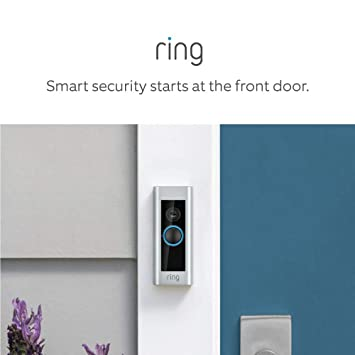 Amazon.com: Ring Video Doorbell Pro, with HD Video, Motion ... on