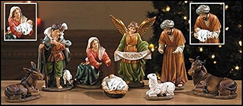 Behold Your King 8 Piece Nativity Set by Christian Brand