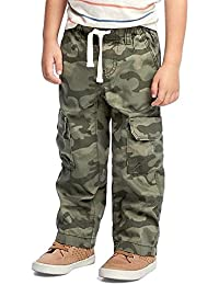 Summer Sale Pull-On Cargo Pants for Toddler Boys!