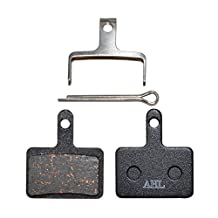 AHL Bicycle Semi-metallic Disc Brake Pads for Shimano Deore M515 M515-LA M515-LA-M M505 M510 M525 M575 M601 M775 M395 M485 M416 M486 M495 Nexave C501 C601