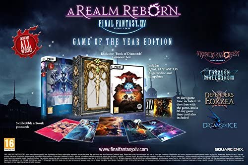 Final Fantasy XIV: A Realm Reborn Game Of The Year (GOTY) Edition PC DVD by Square Enix: Amazon.es: Videojuegos