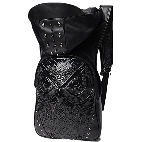Halloween Double Bag Unisex Shoulder Backpack Pu Adults Rock 2 Travel Computer Leisure Black wpTpq1