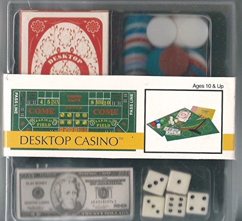 NEW Mini Desktop Casino Kit (Toysmith) .HN#GG_634T6344 G134548TY62411