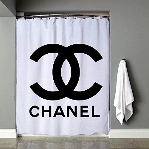 Channel Logo Shower Curtain 60 X 72