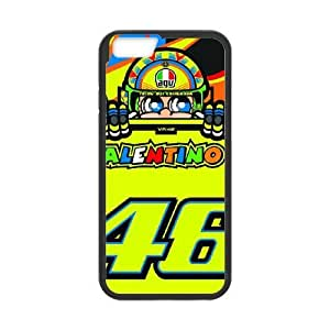 iphone6 4.7 inch phone cases Black Valentino Rossi Phone cover NAS3820343