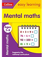 Mental Maths Ages 7-9: New Edition: easy maths practice book for years 3 to 6 (Collins Easy Learning KS2)