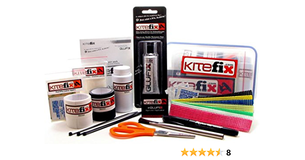 Details about  /Kite aid Leading Edge and Strut Repair Kit Kiteaid NEW c//t KiteFix NEW