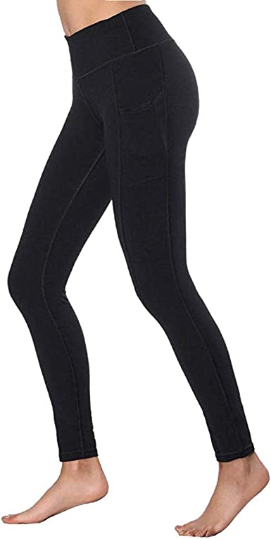 Femmes Sport Gym Yoga Extensible Mi Taille Running Pantalon Fitness Élastique Leggings