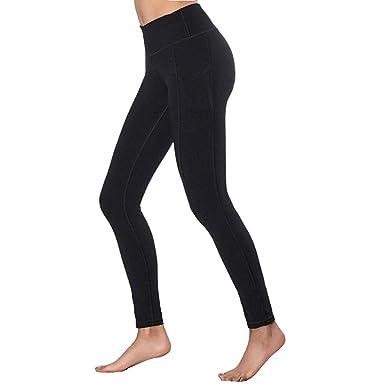 BaZhaHei Mujer Pantalones Largos Deportivos Patrón de árbol Leggings para Running Yoga y Ejercicio Mallas Deportivas ImpresióN De áRbol Deporte ...