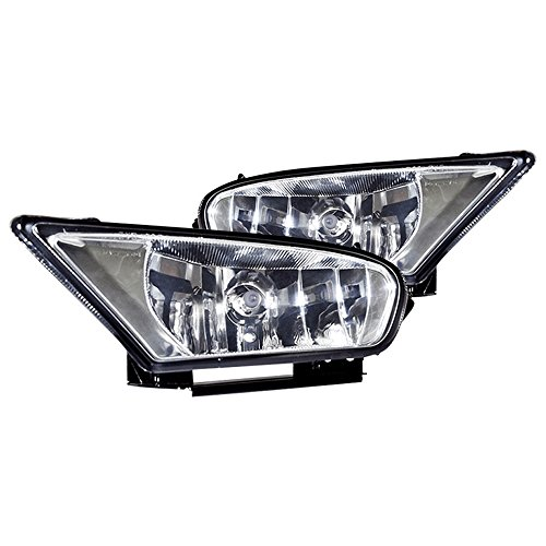 Winjet WJ30-0136-09 OEM Series for [2005-2007 Honda Odyssey] Clear Lens Driving Fog Lights + Switch + Wiring Kit