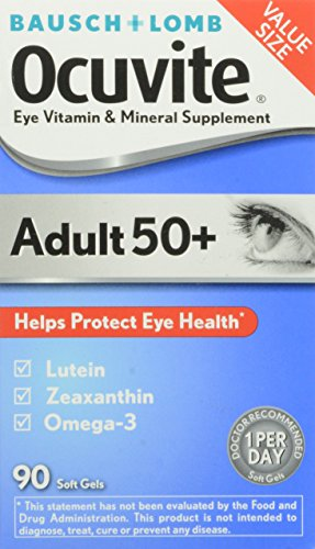 Ocuvite Bausch Vitamin Mineral Supplement